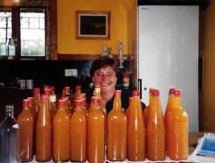 Volunteering to make apple juice in Ireland
