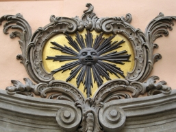 Detail on a building