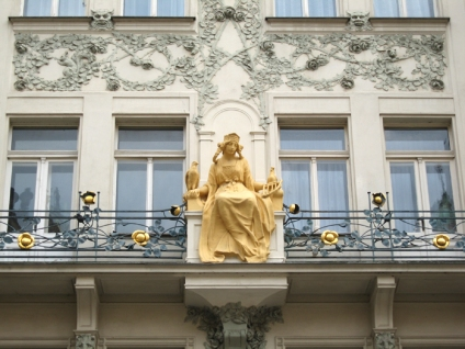 Detail on a balcony