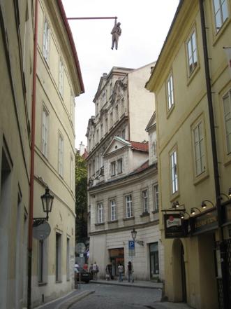 The 'hanging man'