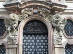 Elaborate detail on a doorway