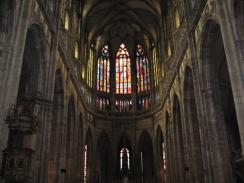 St Vitus Cathedral interior