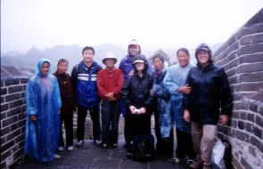 Our group with Xiao Feng