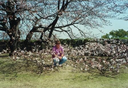 Karen at Himeji Castle