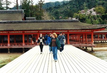 Exploring Itsukushima Shrine