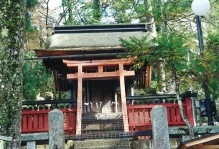 Shrine on Mt Misen