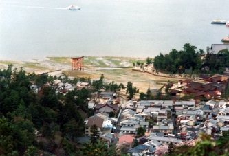View from Mt Misen