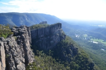 View of Halls Gap from the Pinnacle