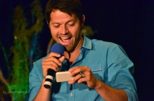 Misha Collins at the Supernatural convention