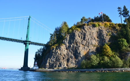 Lions Gate Bridge and Stanley Park