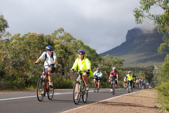 Cycling in the Grampians