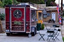 Food truck on Barton Springs Road