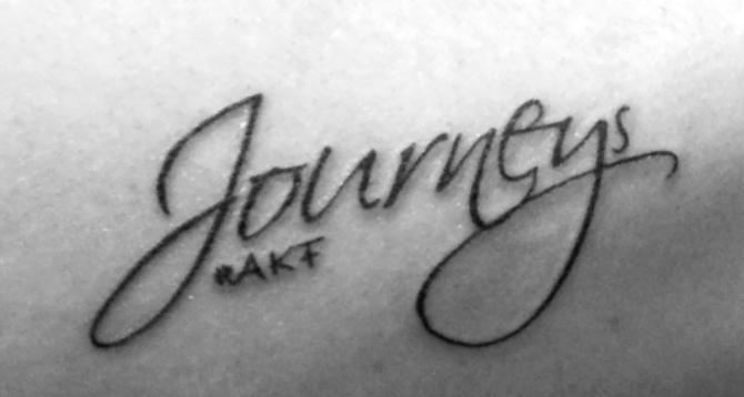 journeys tattoo