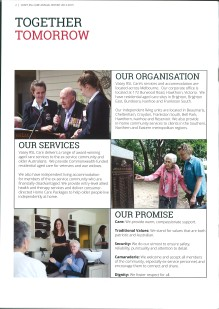 Vasey RSL Care brochure