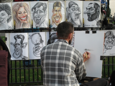 Artist on South Bank
