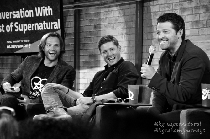 Jared Padalecki, Jensen Ackles and Misha Collins