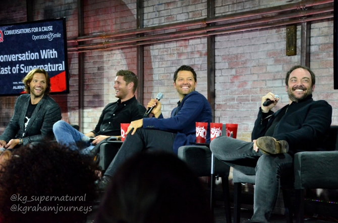 A conversation with the cast of Supernatural at NERD HQ.