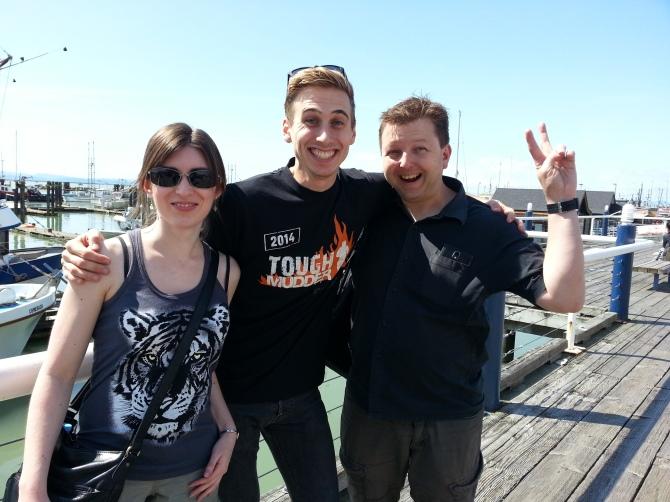 Rachel, Jamie & Mike in Vancouver