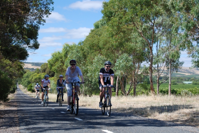 Adelaide Hills ride