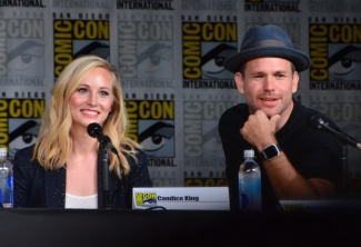 Candice King and Matt Davis