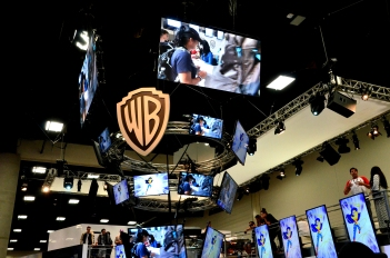 WB signing booth