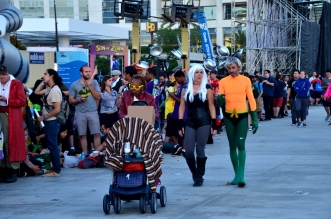 Colourful crowds at SDCC